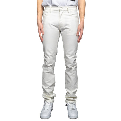 Raf Simons Regular Fit Denim Pants W/ Tape and Patch