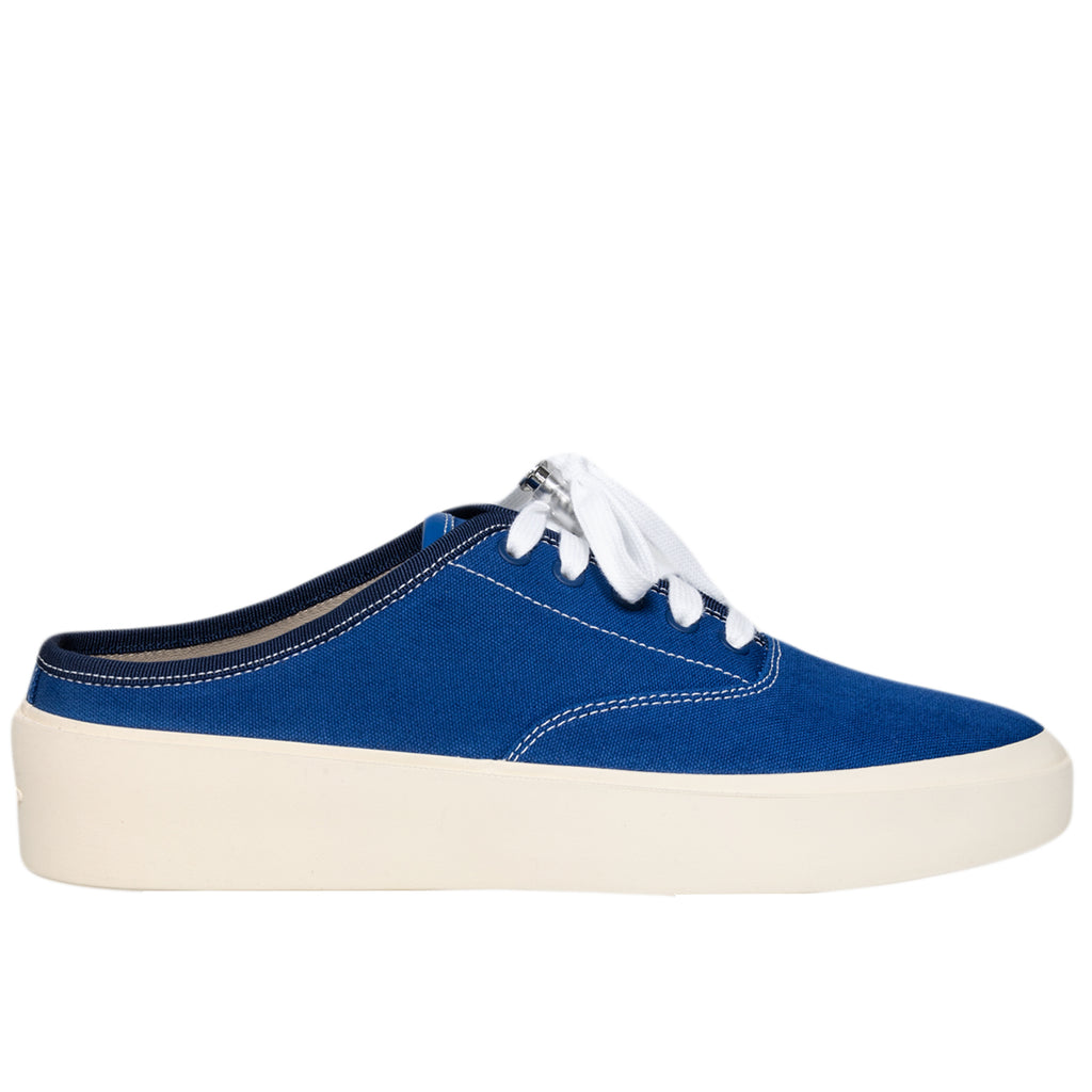 Fear of God 101 Backless Sneaker, Royal Blue Canvas