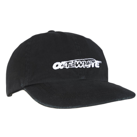 Off-White F20 OW Pivot Baseball Cap, Black/White