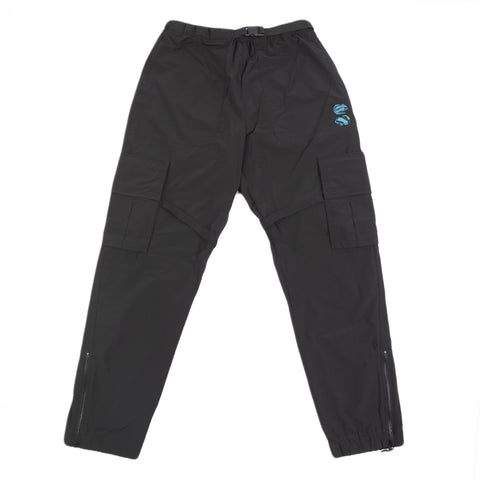 Off-White F20 Offf Nylon Cargo Pant, Black/White