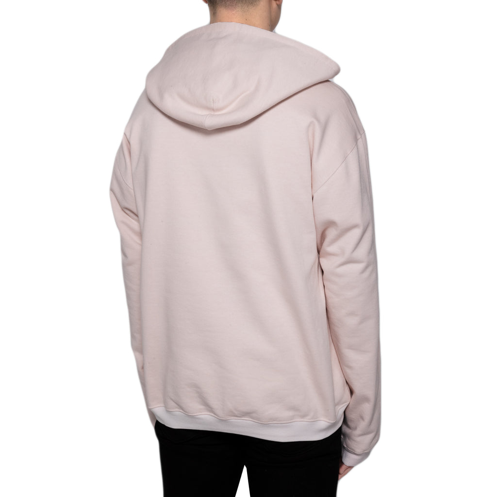 OAMC Knitted Exit Hoodie Jersey, Light Pink/Pastel Pink