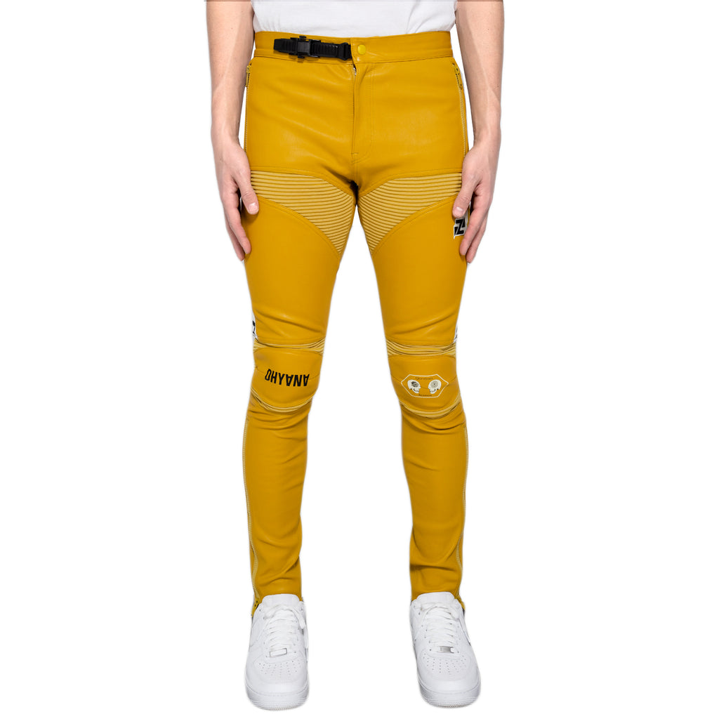 Undercover Sheep Skin Pants, Yellow