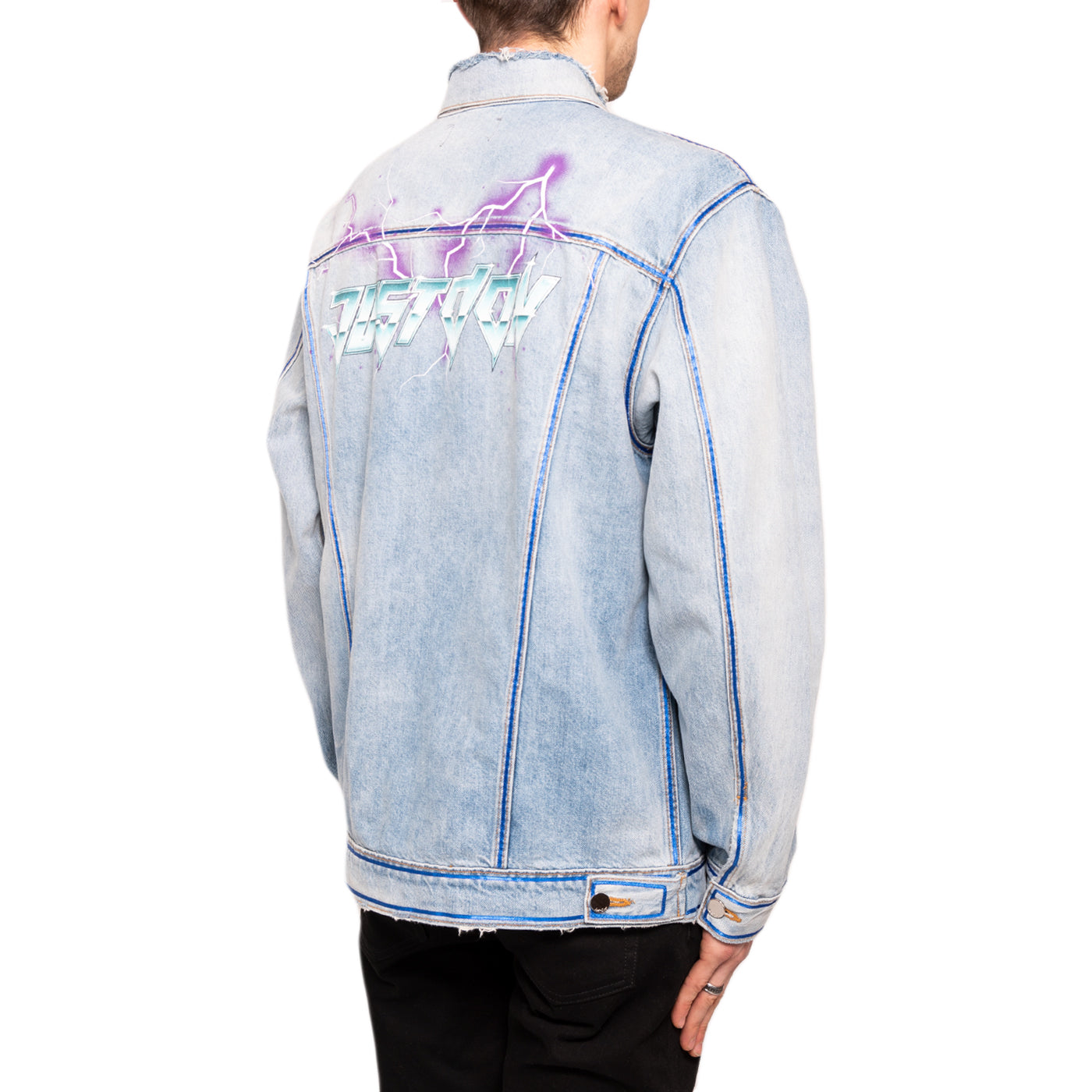 Just Don Sound Lightning Denim Trucker, Indigo
