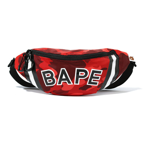 Bape SS20 Color Camo Waist Bag