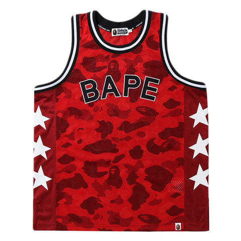 Bape SS20 Color Camo Bape Basketball Tank Top