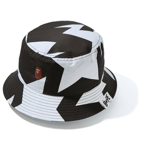 Bape FW20 STA Pattern Bucket Hat