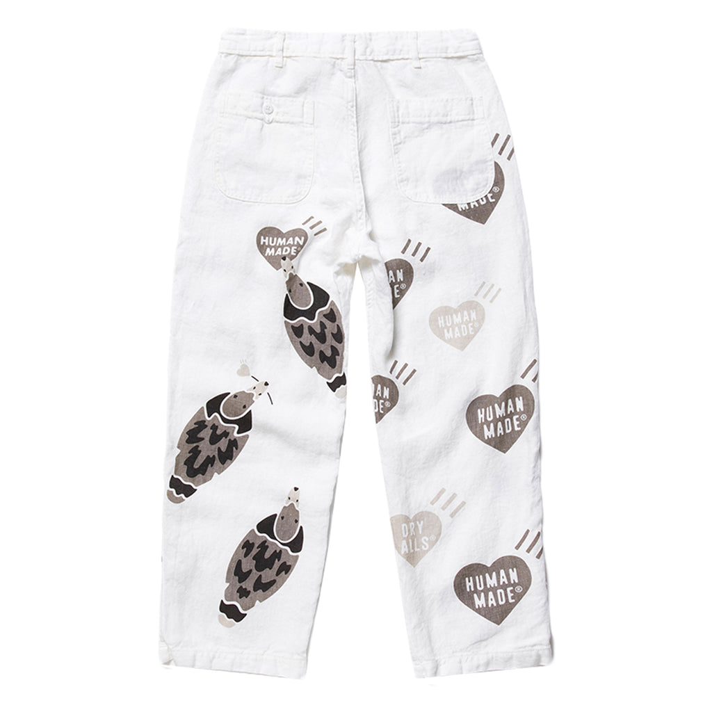 Human Made SS20 Deck Pants, White