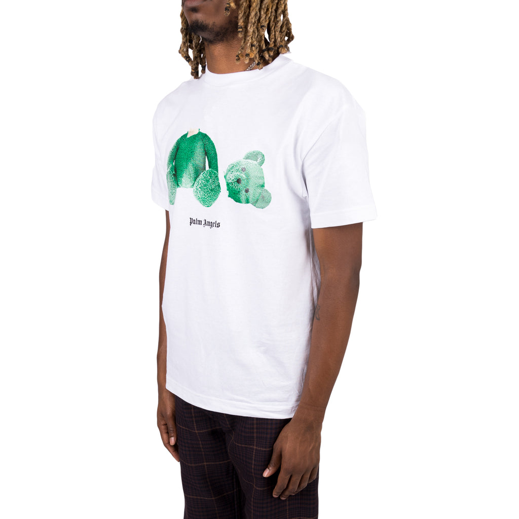 Palm Angels FW19 Bear S/S Tee, White/Green