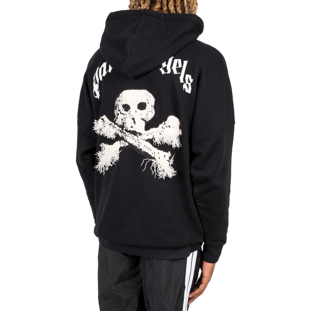 Palm Angels FW19 New Skull Hoody, Black
