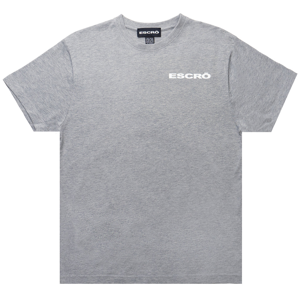 Escro Intel Tee, Heather Grey