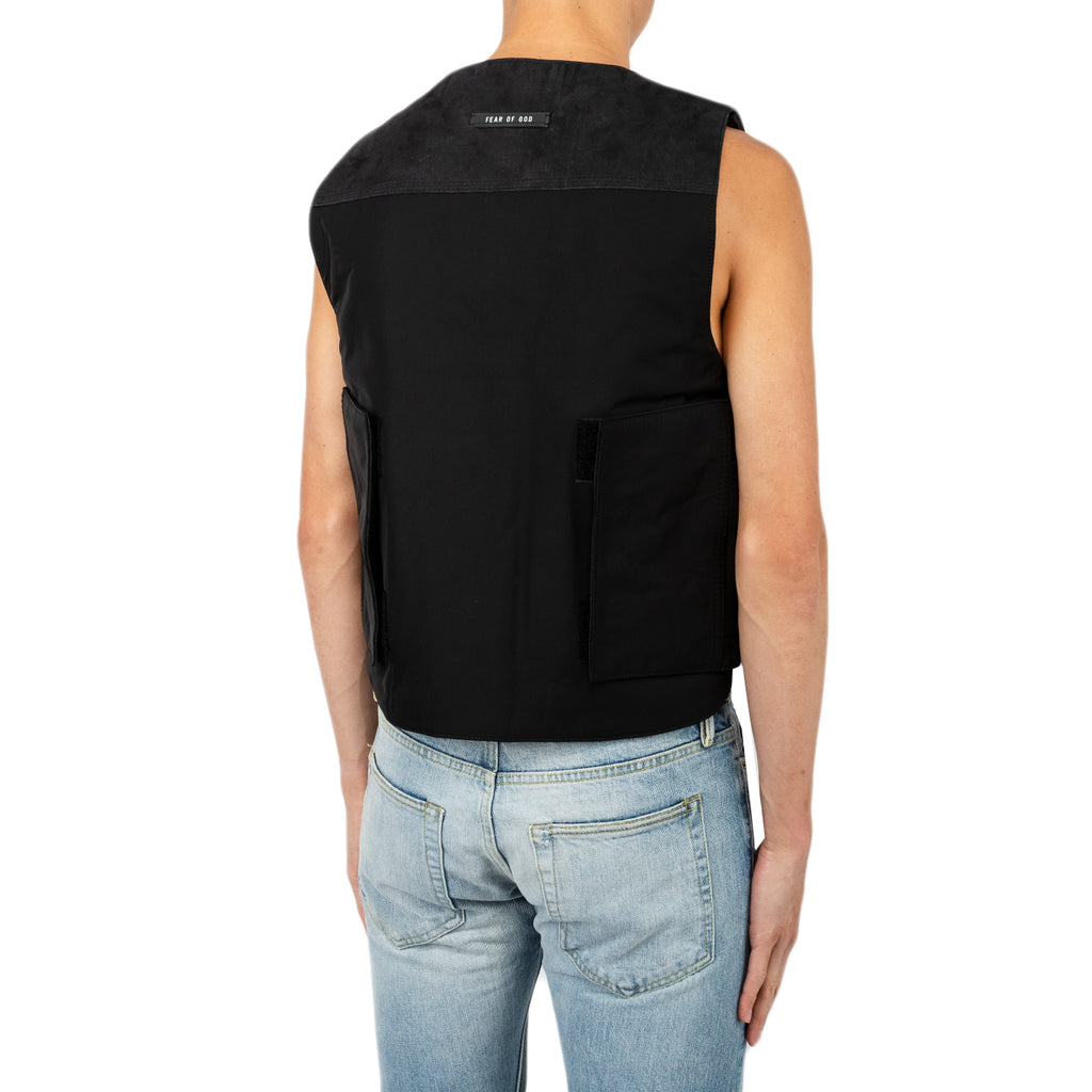 Fear of God SS19 Bull Rider Vest, Black