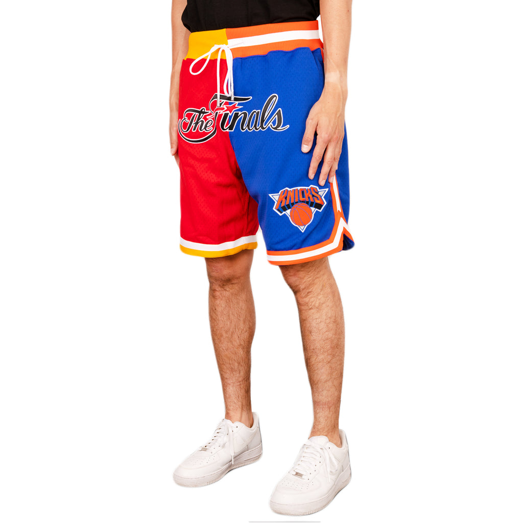 Just Don SS19 NBA Split Finals Shorts Rockets x Knicks