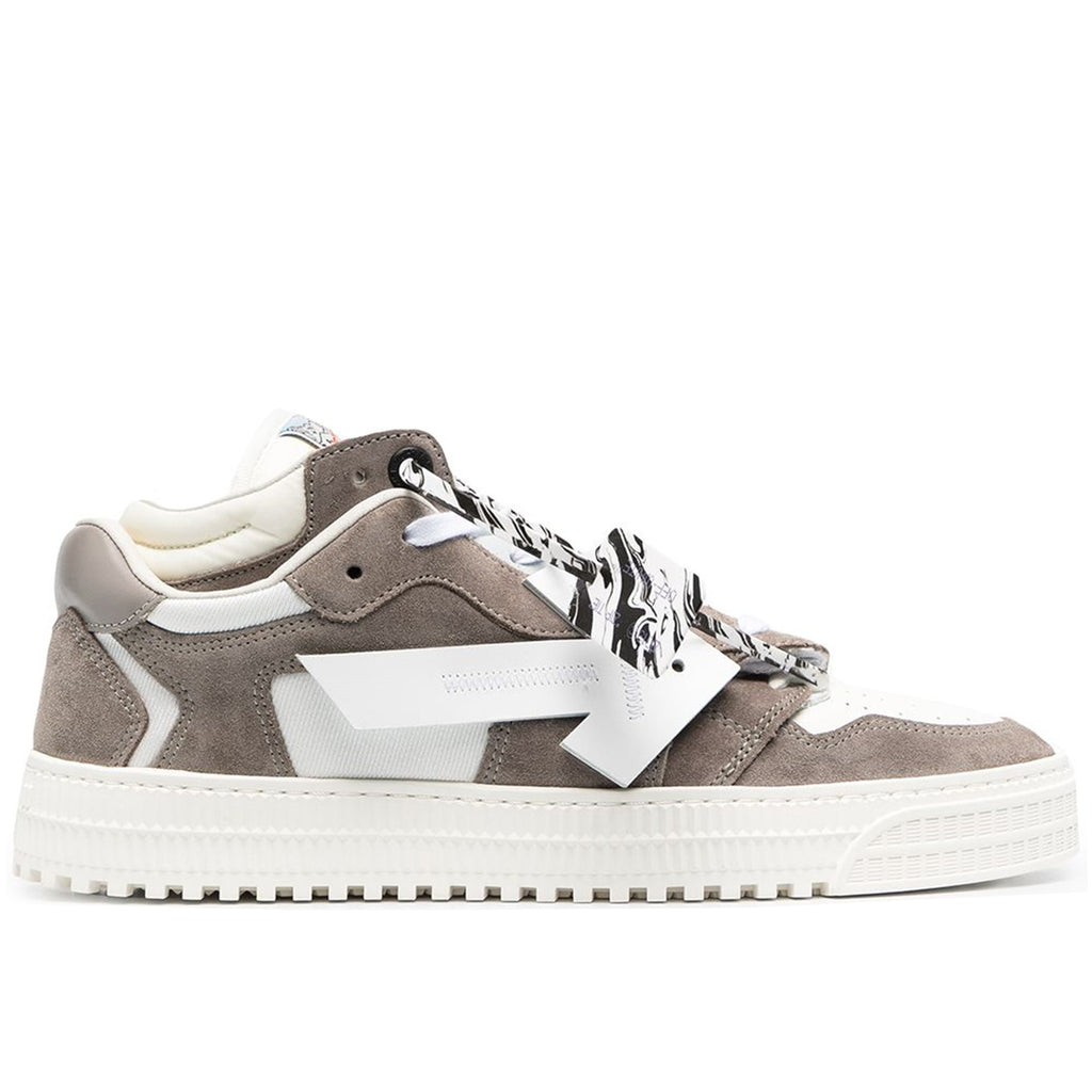 Off-White PS21 3.0 Off Court Low Cow Suede, Grey/White