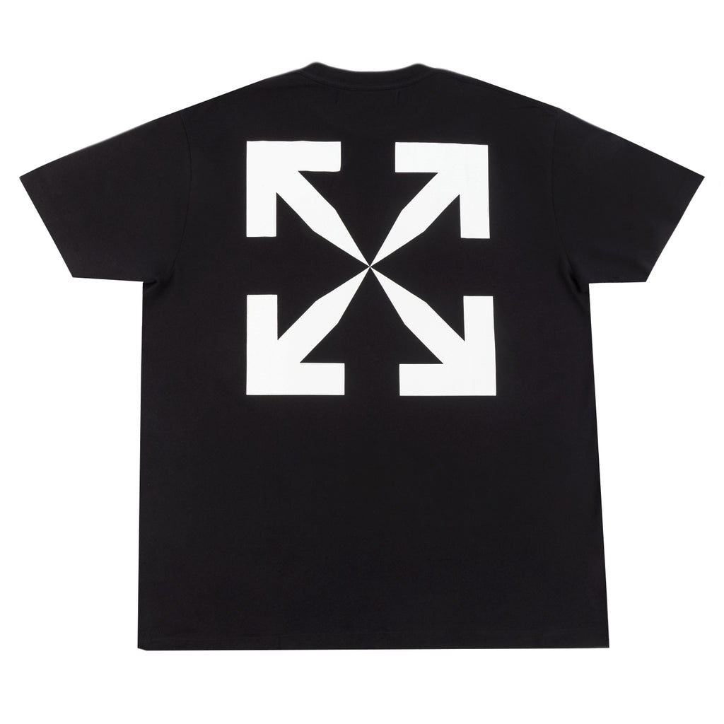 Off-White F20 Pascal Print S/S Over Tee, Black/White