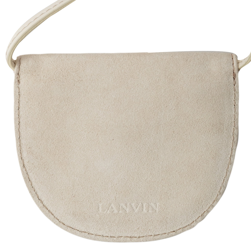 Lanvin FW19 Mask Bag, Cream/Red