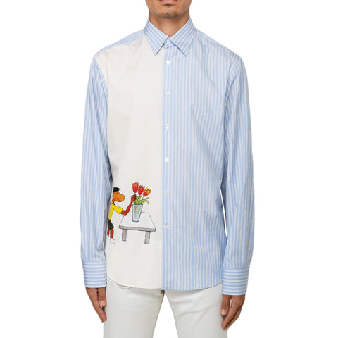 Lanvin FW19 Straight Shirt Double Cuff