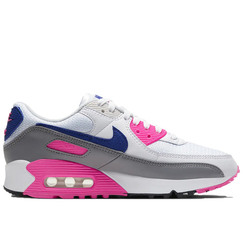 Air Max III Women's, White/Concord/Pink Blast/Vast Grey