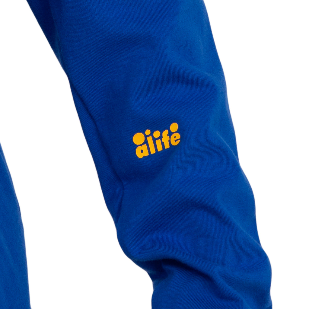 Alife FW19 Artificial Life Football Kit, Blue/Black
