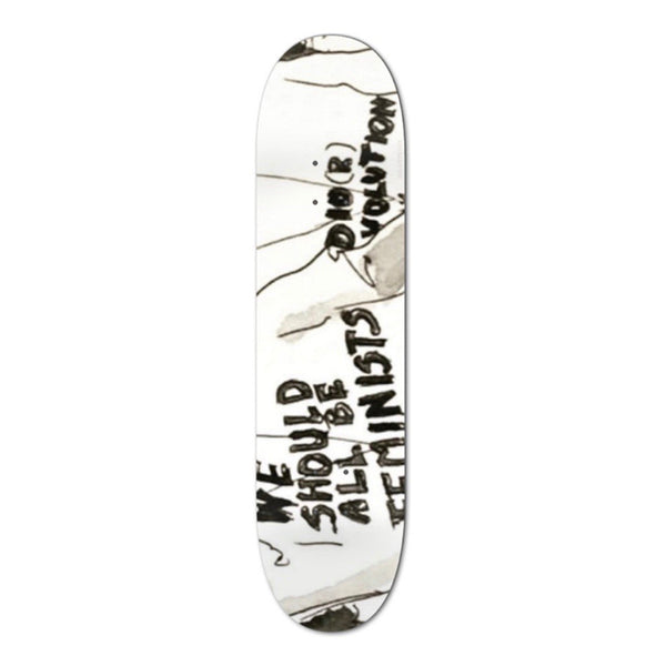 "An OutKast ""We Should All be Feminists"" Skateboard Deck, Multi"