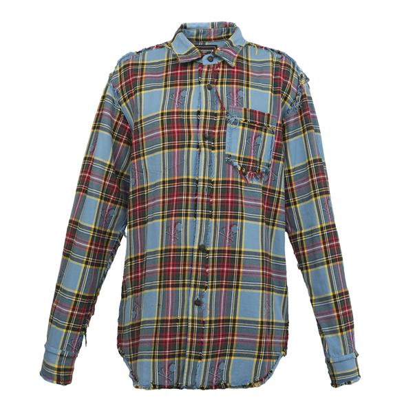 mastermind World Check Flannel, Blue