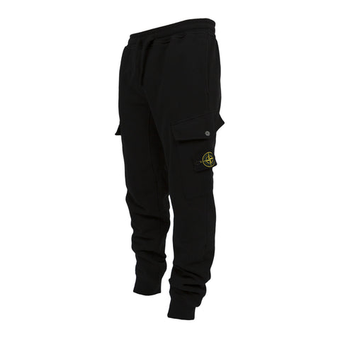Stone Island Cargo Sweatpants (Black)