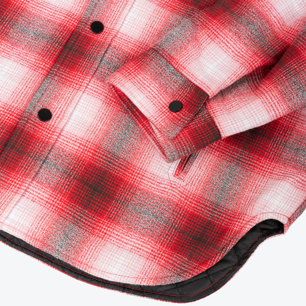 Saintwoods SS21 Insulated Flannel, Red