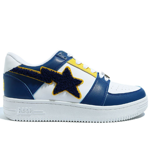 Bape FW20 Patched Bape Sta Low, Navy