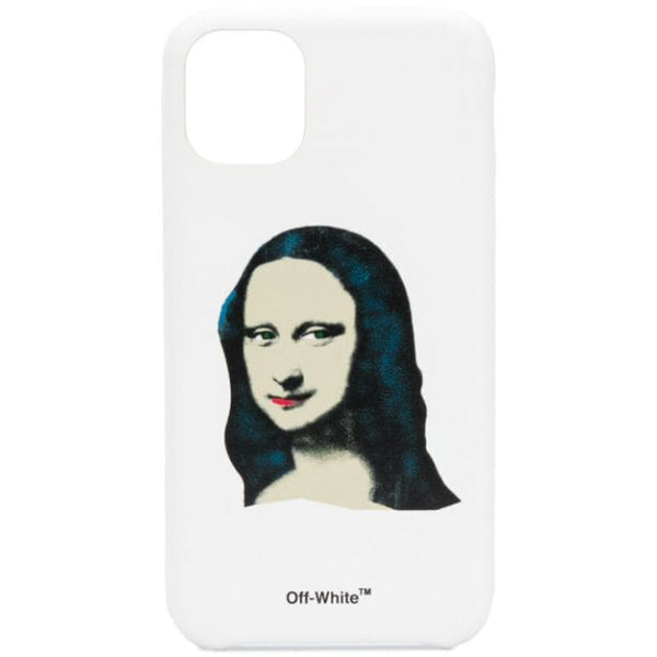 Off-White F20 Monalisa iPhone 11 Pro Max Cover, White/Black