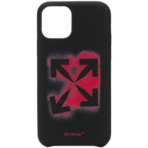Off-White F20 Stencil iPhone 11 Pro Cover, Black/Red