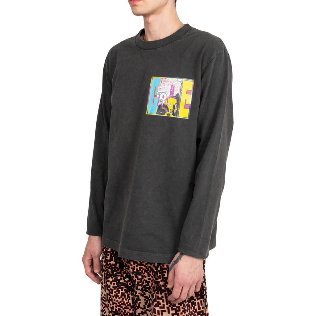 Cav Empt FW19 MD THINKtank Tee, Charcoal