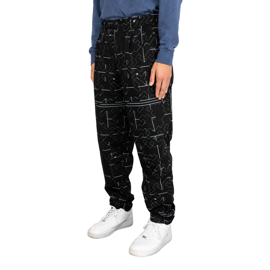 Cav Empt FW19 Noise 7 Wide Chinos, Black