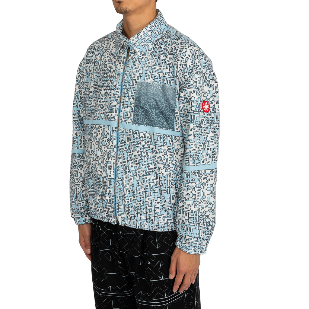 Cav Empt FW19 Noise Flannel Zip Jacket