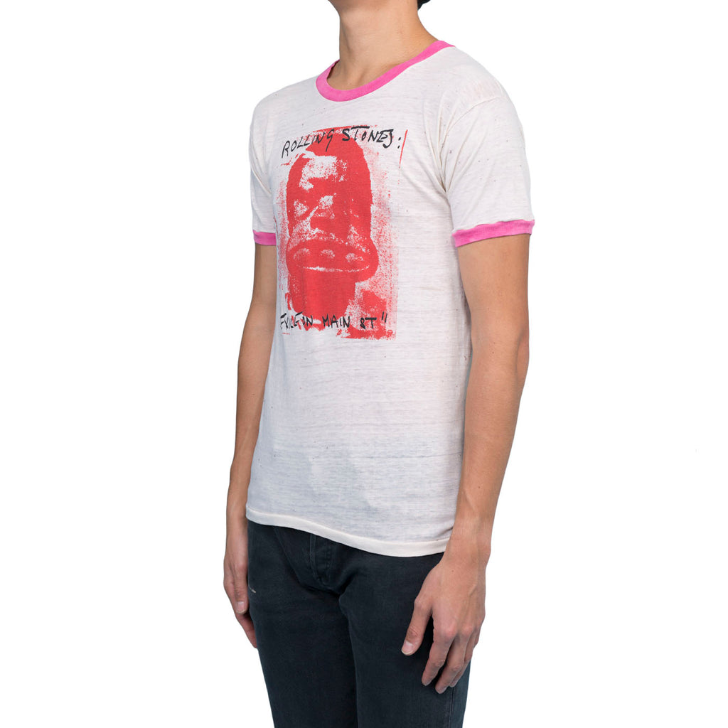 Saint Luis Rolling Stones Tee (White/Pink/Red)
