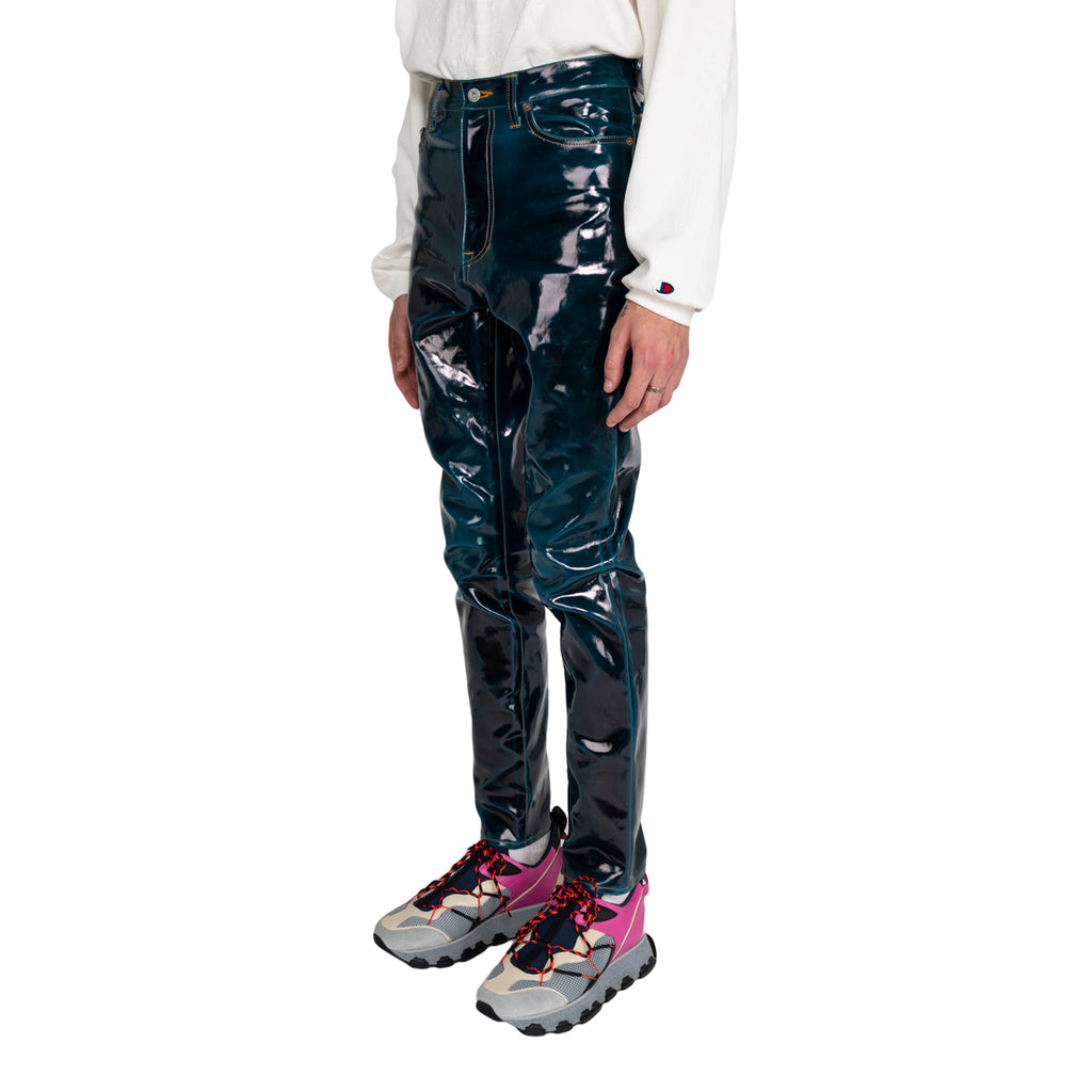Doublet FW19 Coating Denim Pants