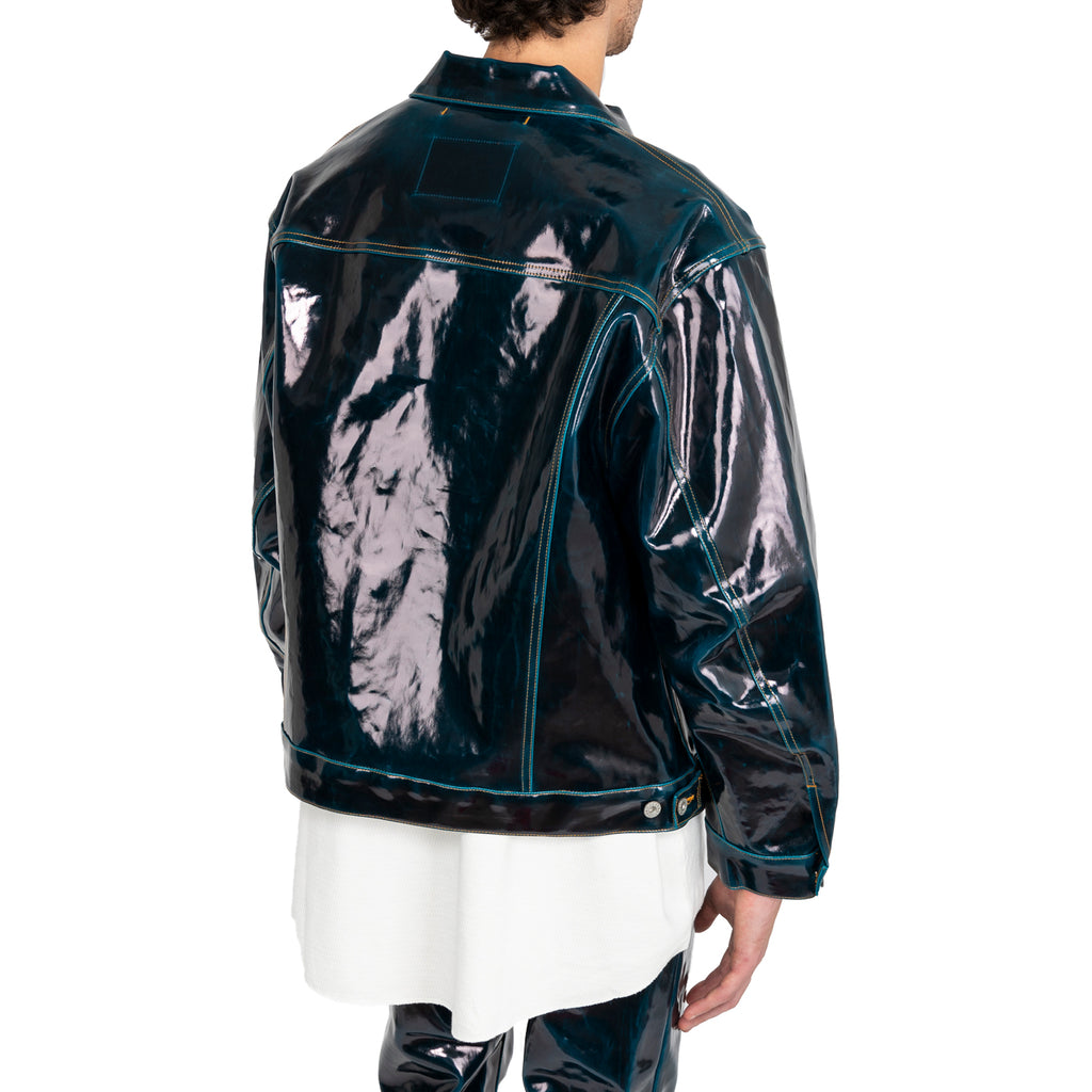 Doublet FW19 Coating Denim Jacket