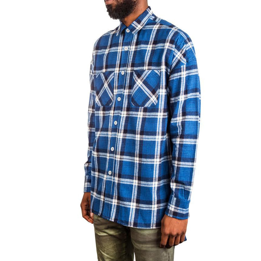 Fear of God 4th Collection Flannel (Blue)