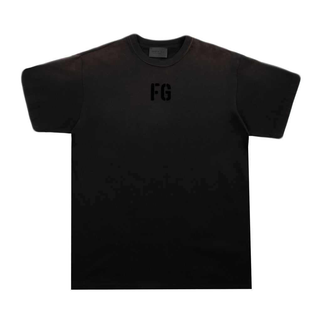 "Fear of God SS21 ""FG"" Tee, Vintage Black"