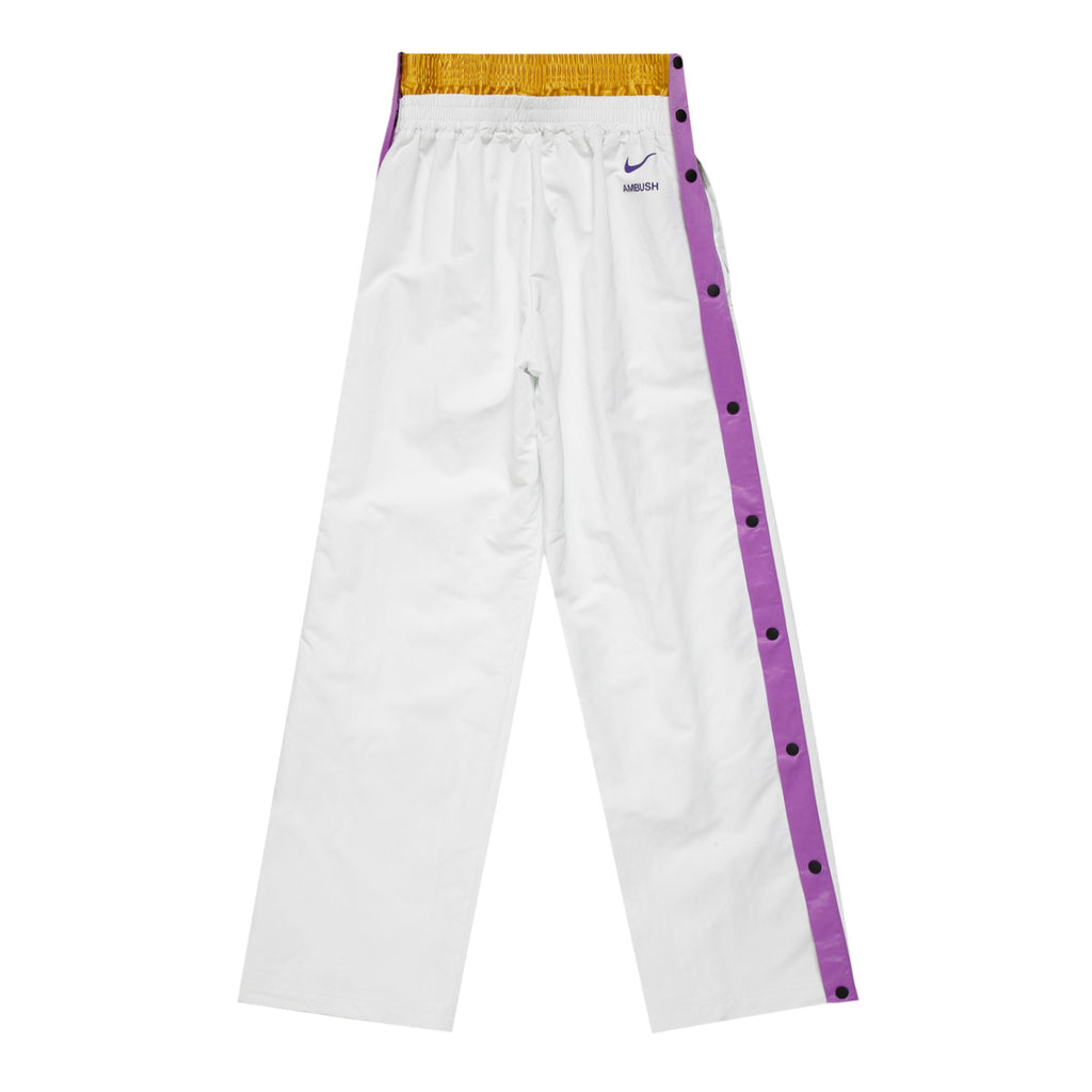 Nike x Ambush Wmns Lakers Tearaway Pant, Summit White