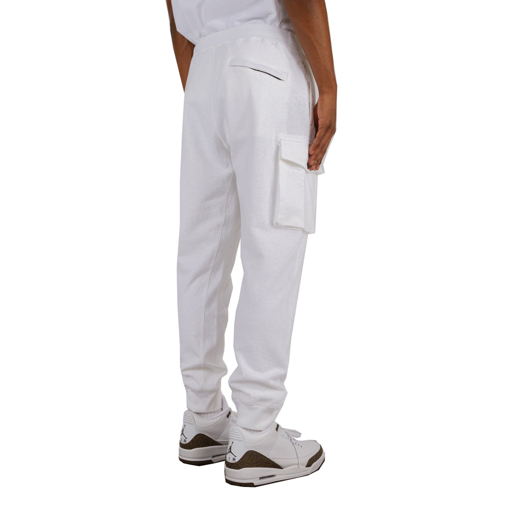 Stone Island SS19 Fleece Pants, White
