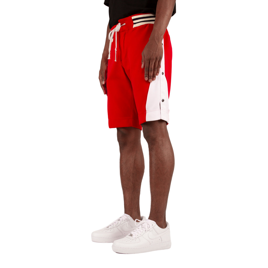 Greg Lauren SS19 Borg Short, Red