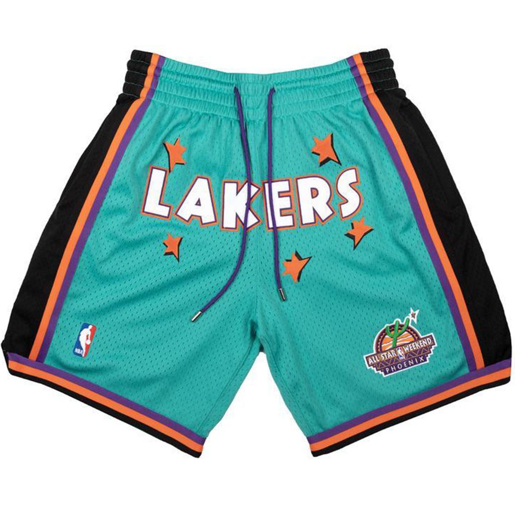 Just Don NBA Lakers 1995 Rookie Shorts, Teal