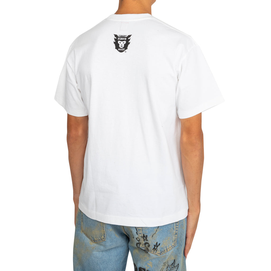 Human Made FW19 Heart #1816 T-Shirt, White