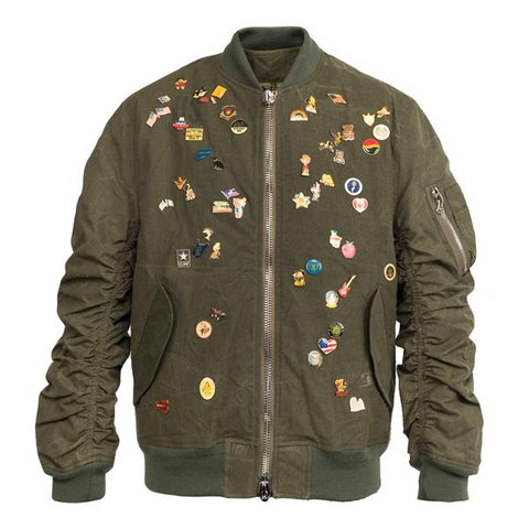 READYMADE Jesse Jacket w/ Pins, Green