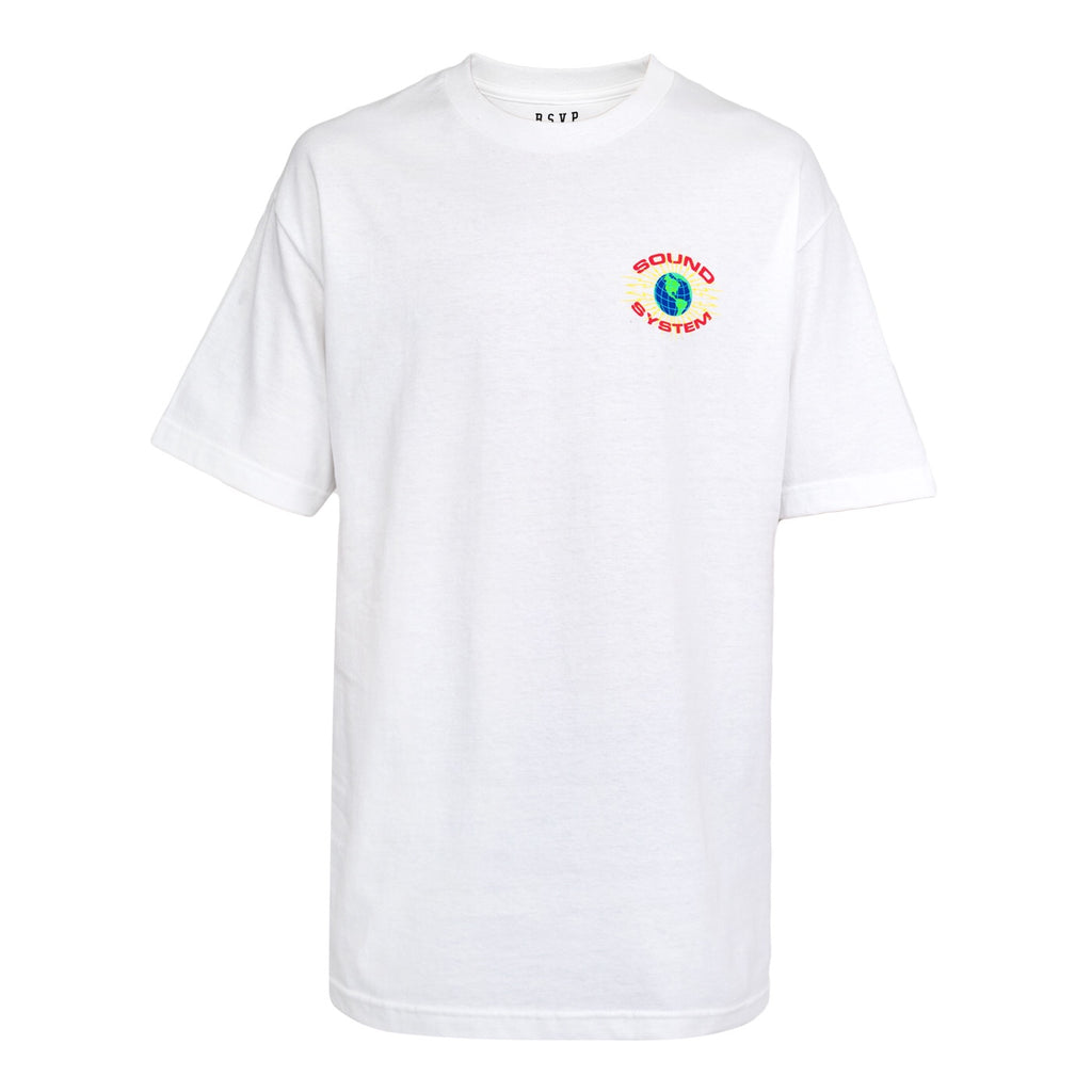 RSVP Gallery Soundsystem T-Shirt (White)