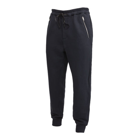 3.1 Phillip Lim Dropped Rise Sweatpant (Navy)