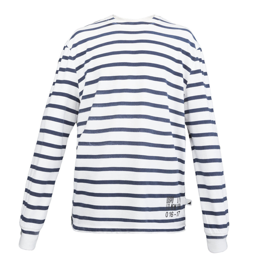 Alexander Wang Surplus Striped L/S Tee (Navy)
