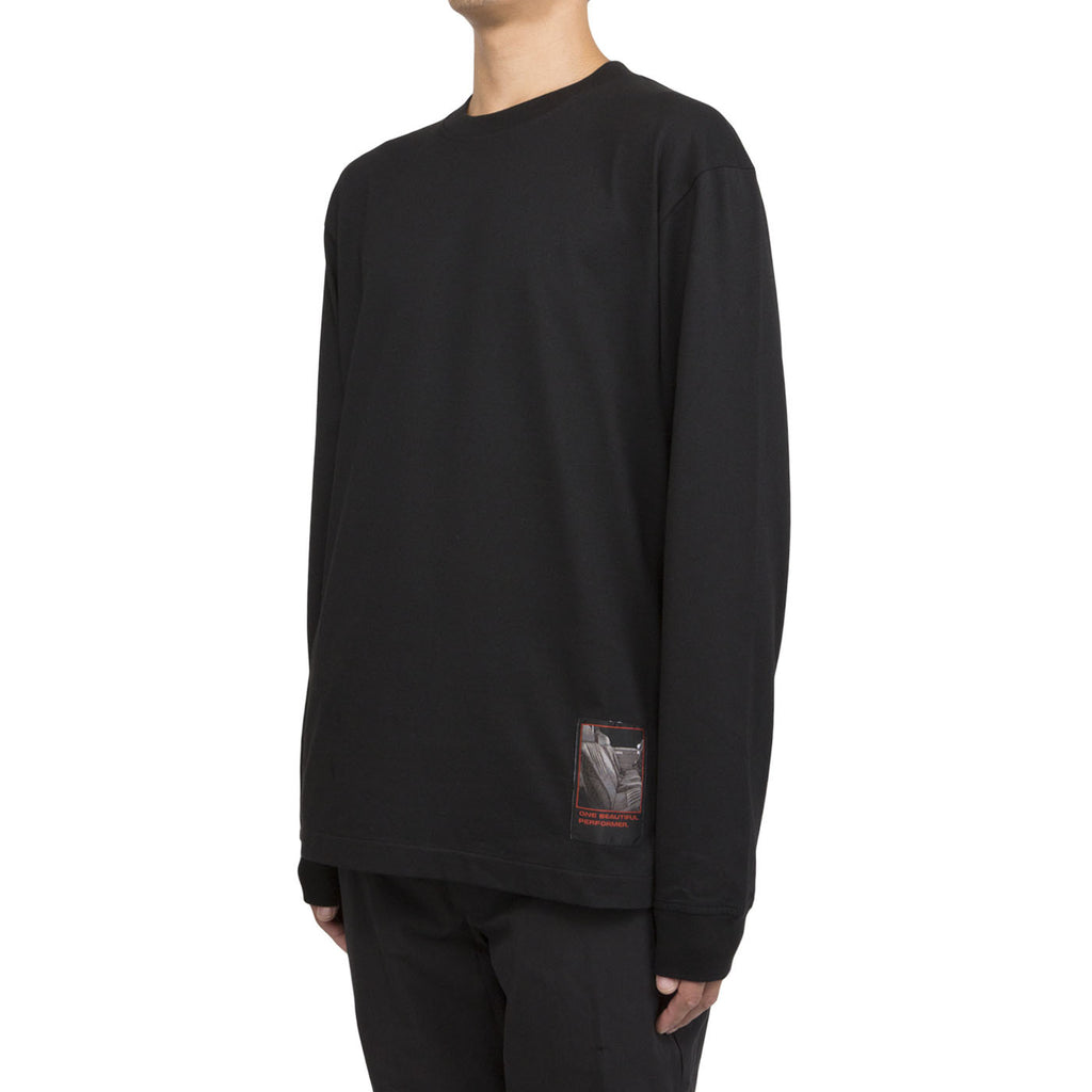 Alexander Wang Slow and Steady L/S Tee (Black)