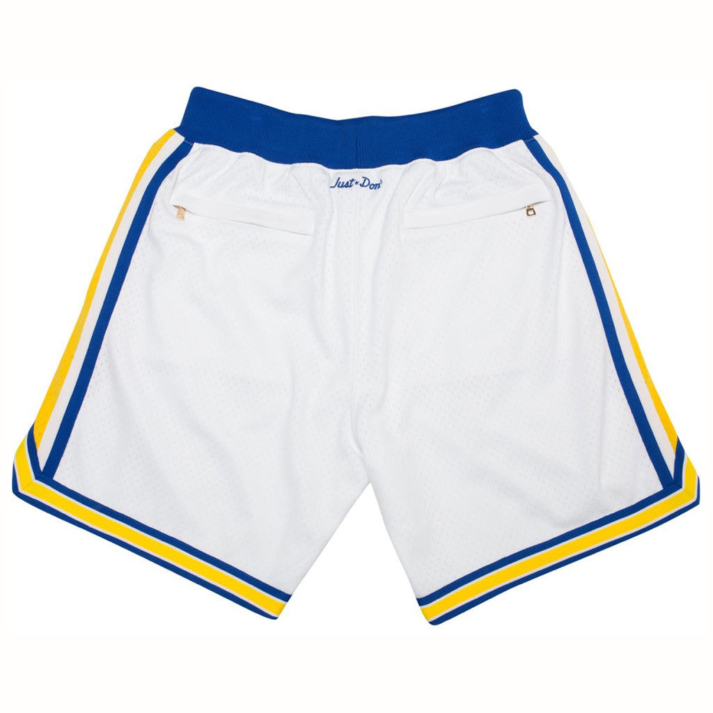Just Don Golden State Warriors Shorts (White)