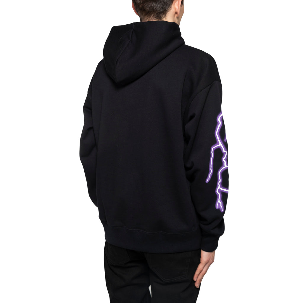 "Converse ""Metal Cons"" Pull Over Hoodie, Black"