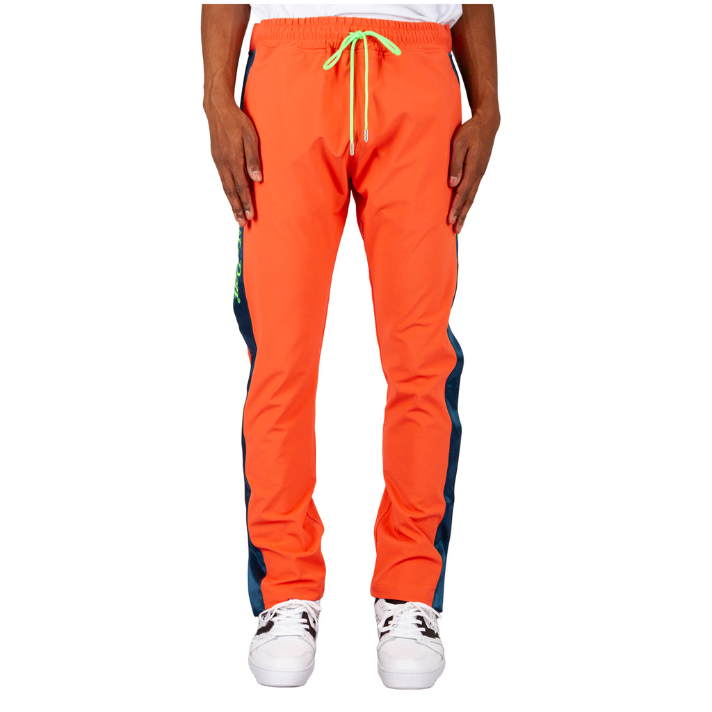 Just Don Nylon Tearaway Pant, Coral